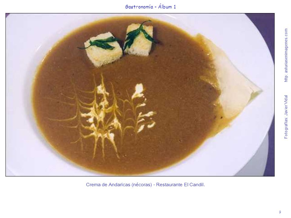 10 Gastronomía - Álbum 1 Fotografías: Javier Vidal http: asturiasenimagenes.com Ensalada de bocartes marinados con queso de cabra y cebolla caramelizada - Casa Zabala.