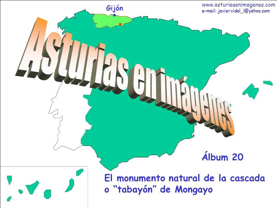 2 Asturias - Álbum 20 Fotografías: Javier Vidal http: asturiasenimagenes.com Inicio en Tarna de la suave Ruta a la Cascada o Tabayón de Mongayo (9,5km ida y vuelta).
