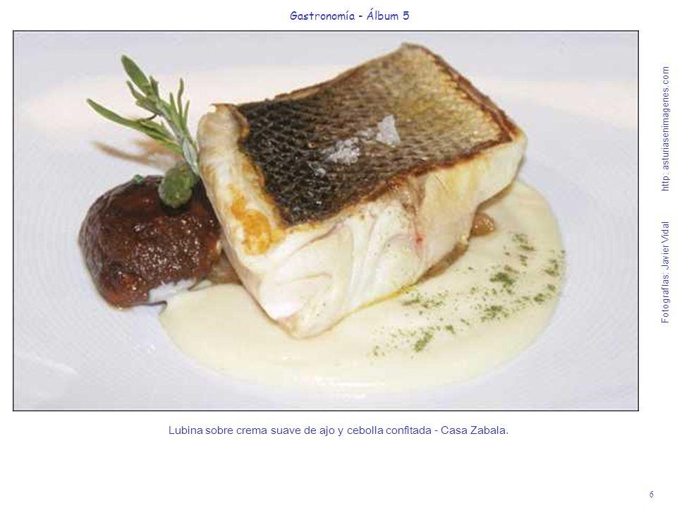 7 Gastronomía - Álbum 5 Fotografías: Javier Vidal http: asturiasenimagenes.com Cocochas al Pil-Pil - Restaurante El Puerto.