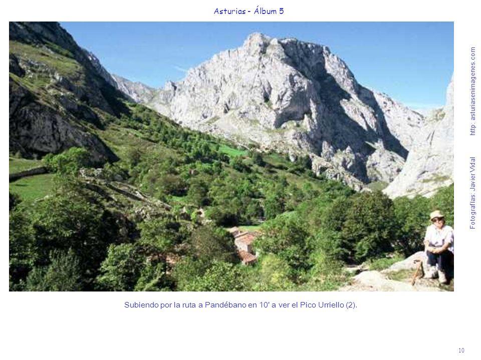 10 Asturias - Álbum 5 Fotografías: Javier Vidal http: asturiasenimagenes.com Subiendo por la ruta a Pandébano en 10' a ver el Pico Urriello (2).