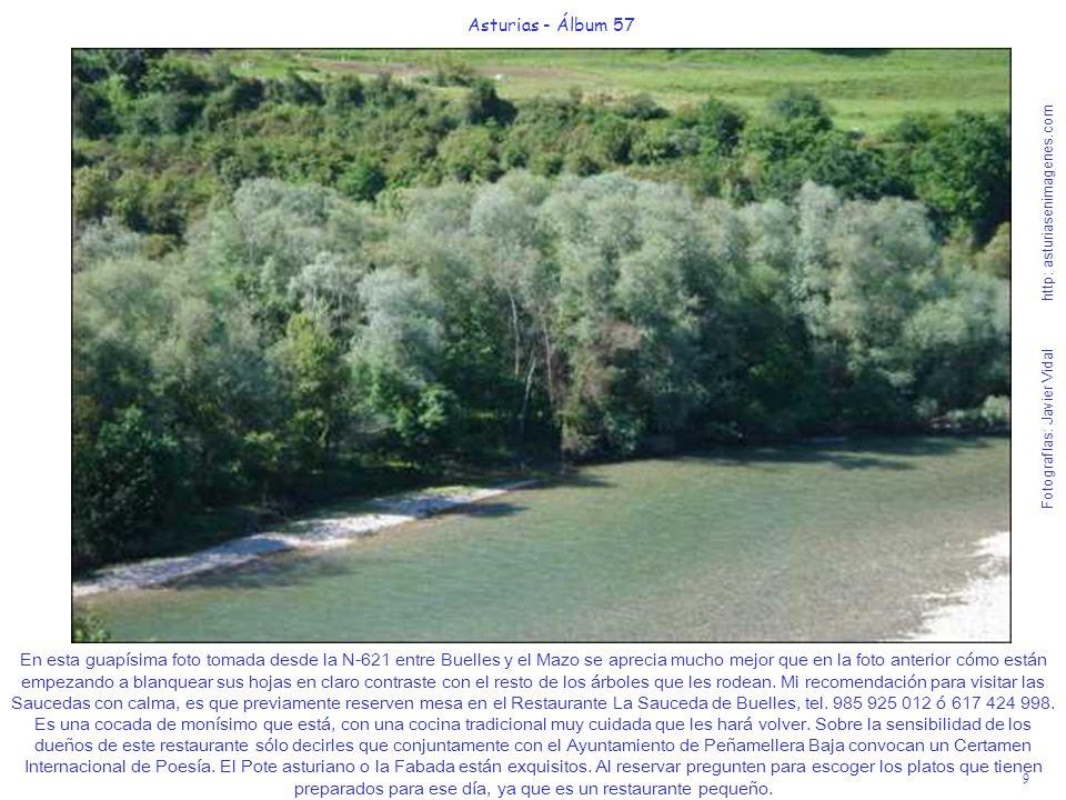 9 Asturias - Álbum 57 Fotografías: Javier Vidal http: asturiasenimagenes.com En esta guapísima foto tomada desde la N-621 entre Buelles y el Mazo se a