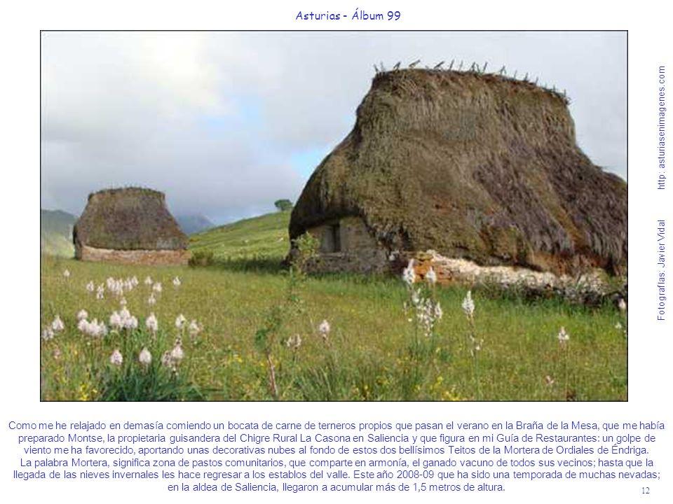 12 Asturias - Álbum 99 Fotografías: Javier Vidal http: asturiasenimagenes.com Como me he relajado en demasía comiendo un bocata de carne de terneros p