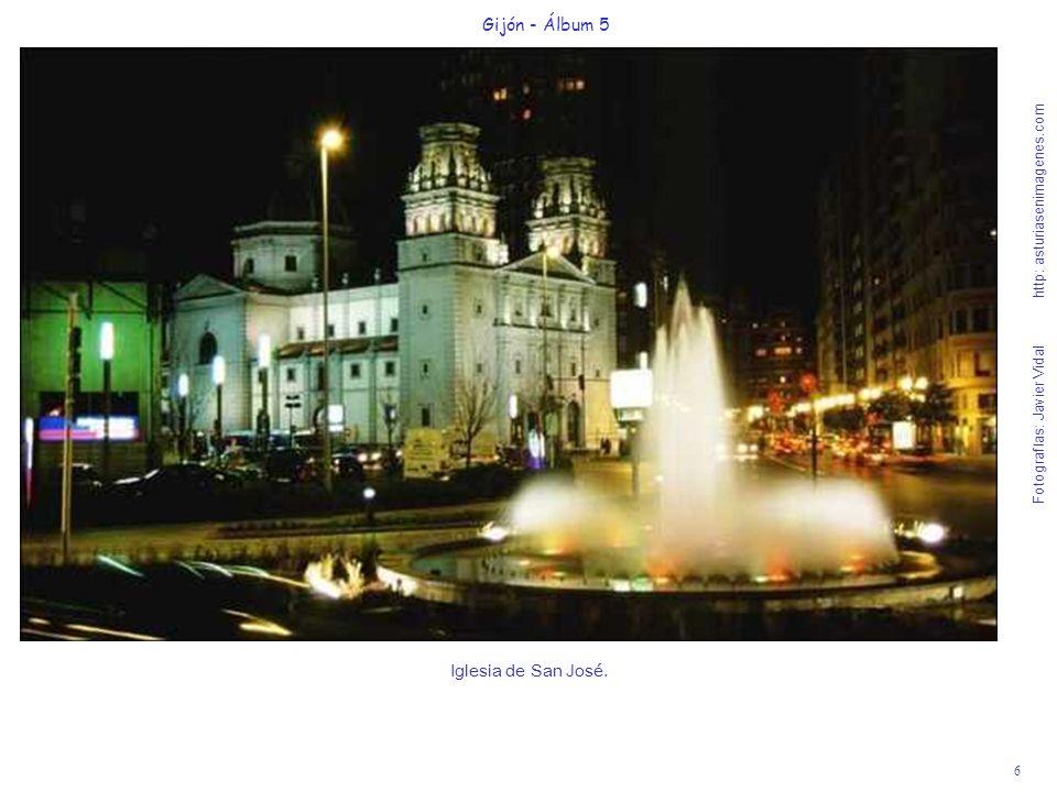 7 Gijón - Álbum 5 Fotografías: Javier Vidal http: asturiasenimagenes.com Jardines de la Plaza de Europa y Mercado del Sur.