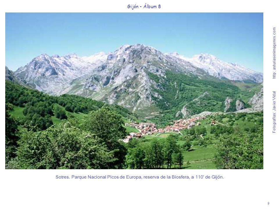 9 Gijón - Álbum 8 Fotografías: Javier Vidal http: asturiasenimagenes.com Sotres. Parque Nacional Picos de Europa, reserva de la Biosfera, a 110' de Gi