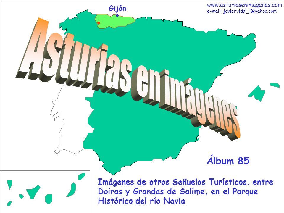 2 Asturias - Álbum 85 Fotografías: Javier Vidal http: asturiasenimagenes.com El día 1 de Mayo de 2009 decidí, acompañado de buen y primaveral tiempo, acabar de descubrirles la mayor parte de los atractivos del Parque Histórico del río Navia, al que también le he dedicado los Álbumes 40, 83 y 84.