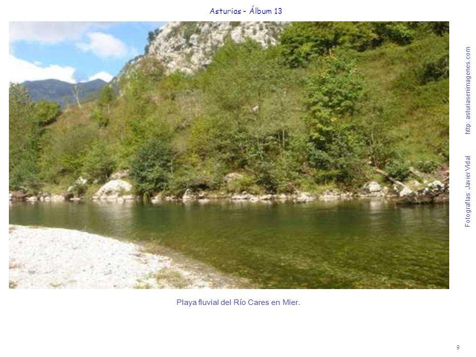 9 Asturias - Álbum 13 Fotografías: Javier Vidal http: asturiasenimagenes.com Playa fluvial del Río Cares en Mier.