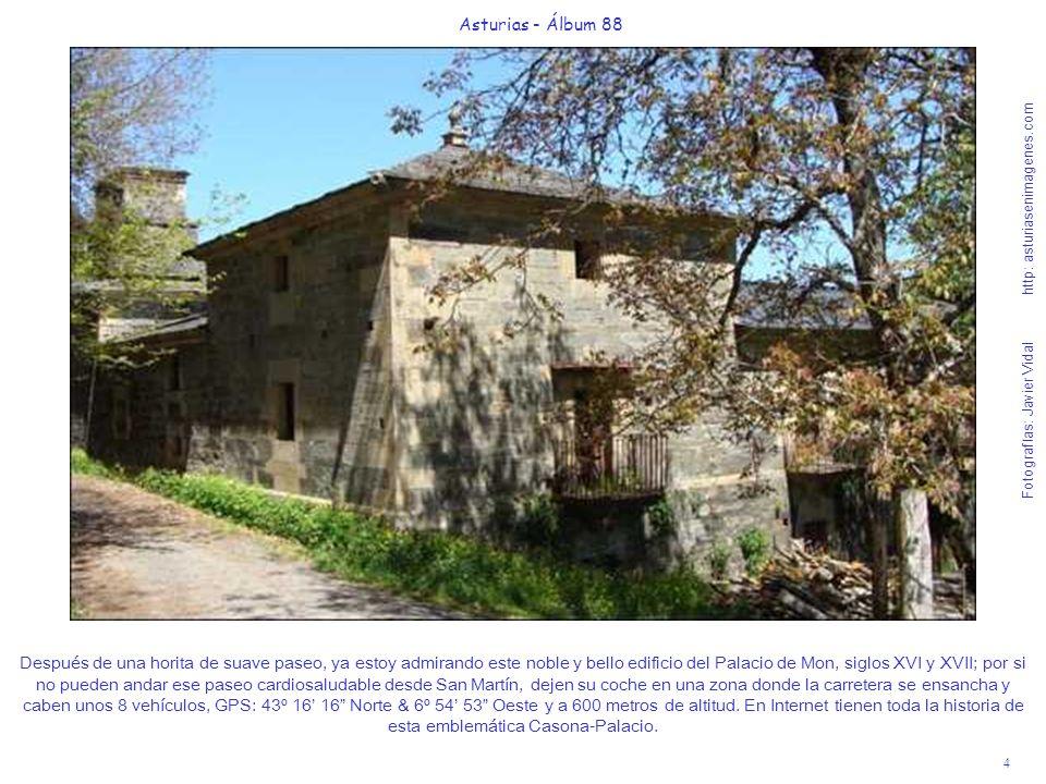 4 Asturias - Álbum 88 Fotografías: Javier Vidal http: asturiasenimagenes.com Después de una horita de suave paseo, ya estoy admirando este noble y bel
