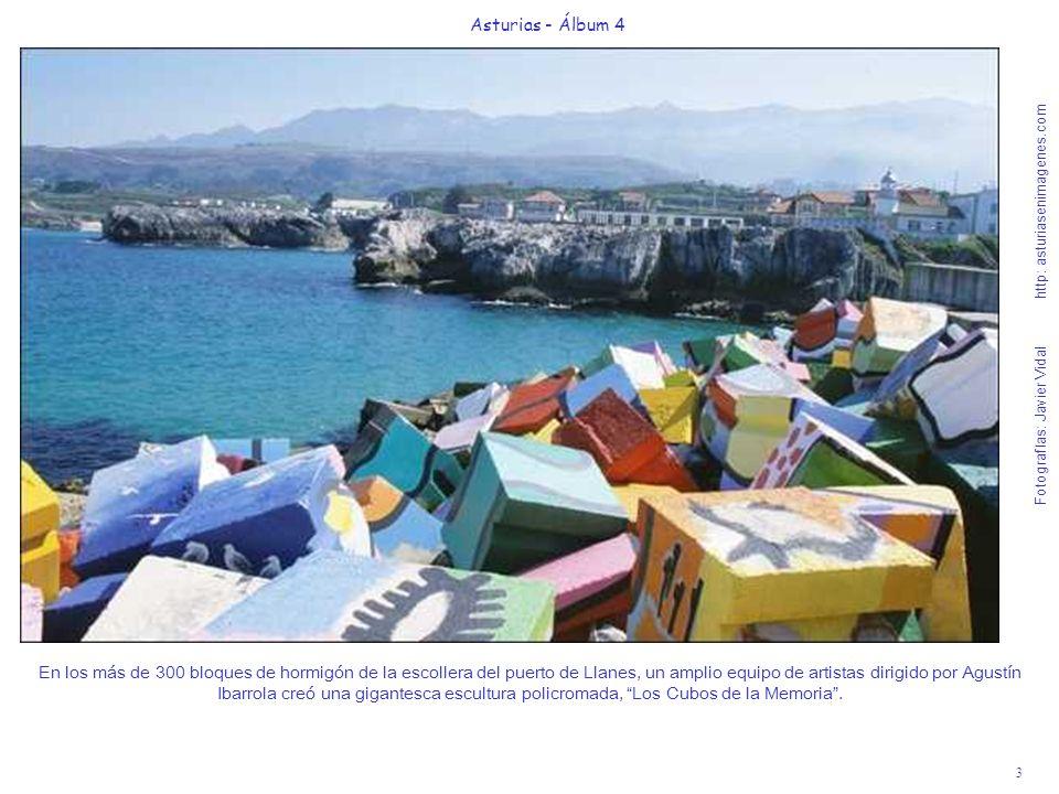 3 Asturias - Álbum 4 Fotografías: Javier Vidal http: asturiasenimagenes.com En los más de 300 bloques de hormigón de la escollera del puerto de Llanes