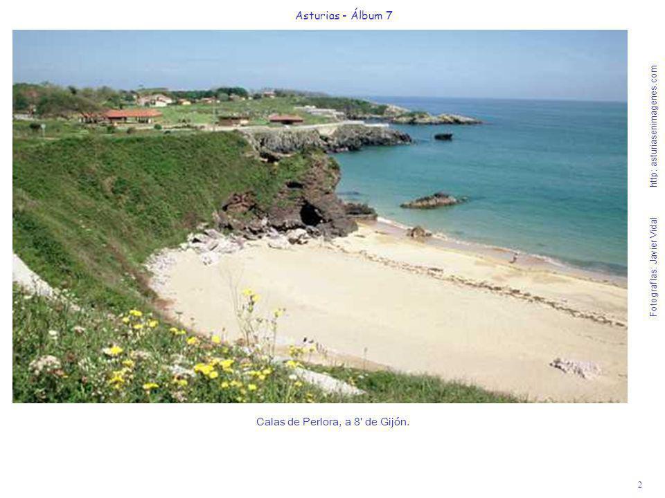 2 Asturias - Álbum 7 Fotografías: Javier Vidal http: asturiasenimagenes.com Calas de Perlora, a 8' de Gijón.