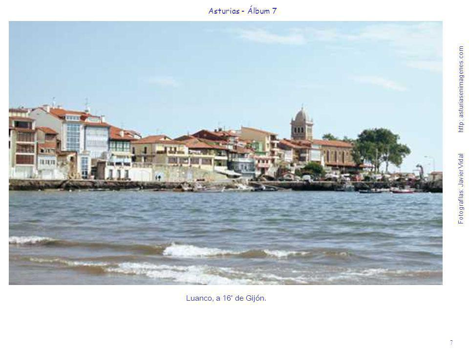 8 Asturias - Álbum 7 Fotografías: Javier Vidal http: asturiasenimagenes.com La visita a los agrestes acantilados de Cabo Vidio, de más de 100 m.