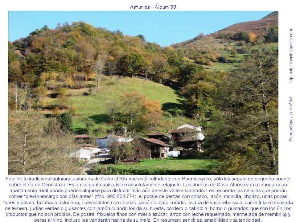 8 Asturias - Álbum 39 Fotografías: Javier Vidal http: asturiasenimagenes.com Foto de la tradicional quintana asturiana de Cabo el Río que está colinda