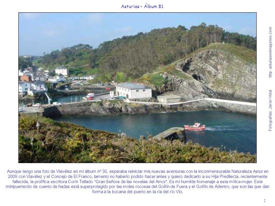 2 Asturias - Álbum 81 Fotografías: Javier Vidal http: asturiasenimagenes.com Aunque tengo una foto de Viavélez en mi álbum nº 30, esperaba reiniciar m