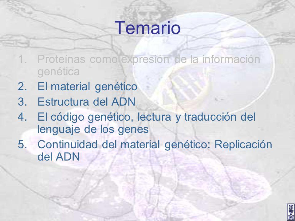 Dogma central de la genética molecular