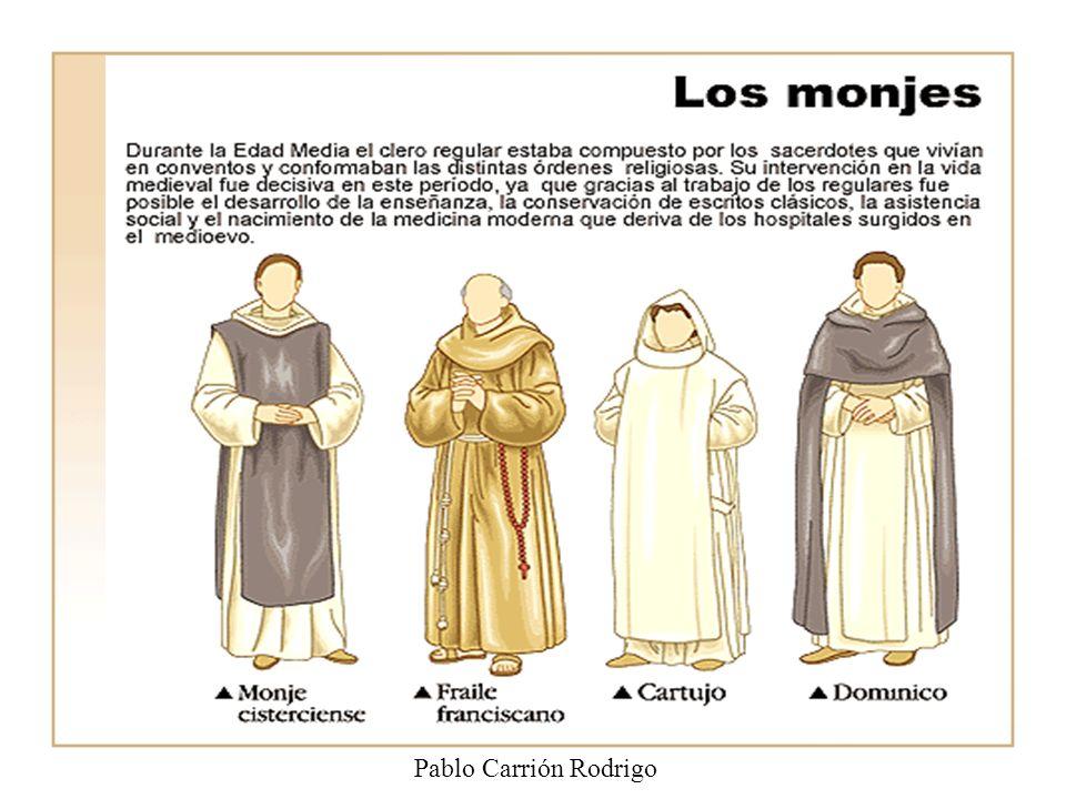 En los territorios cristianos las principales manifestaciones culturales se dieron en los monasterios. Allí los monjes se dedicaban a copiar libros de