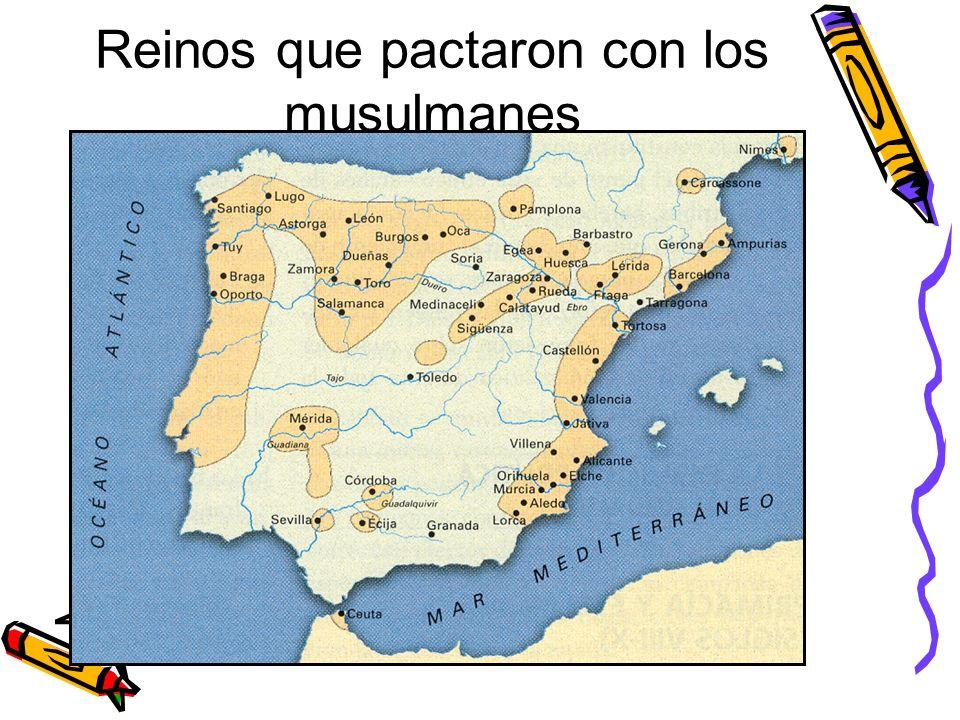 Invasión de los musulmanes En el siglo VIII se produjo una nueva invasión en la península por parte de pueblos venidos del norte de África: los musulm