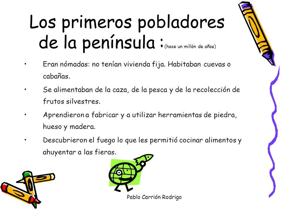 Pablo Carrión Rodrigo Los primeros habitantes de las tierras valencianas.