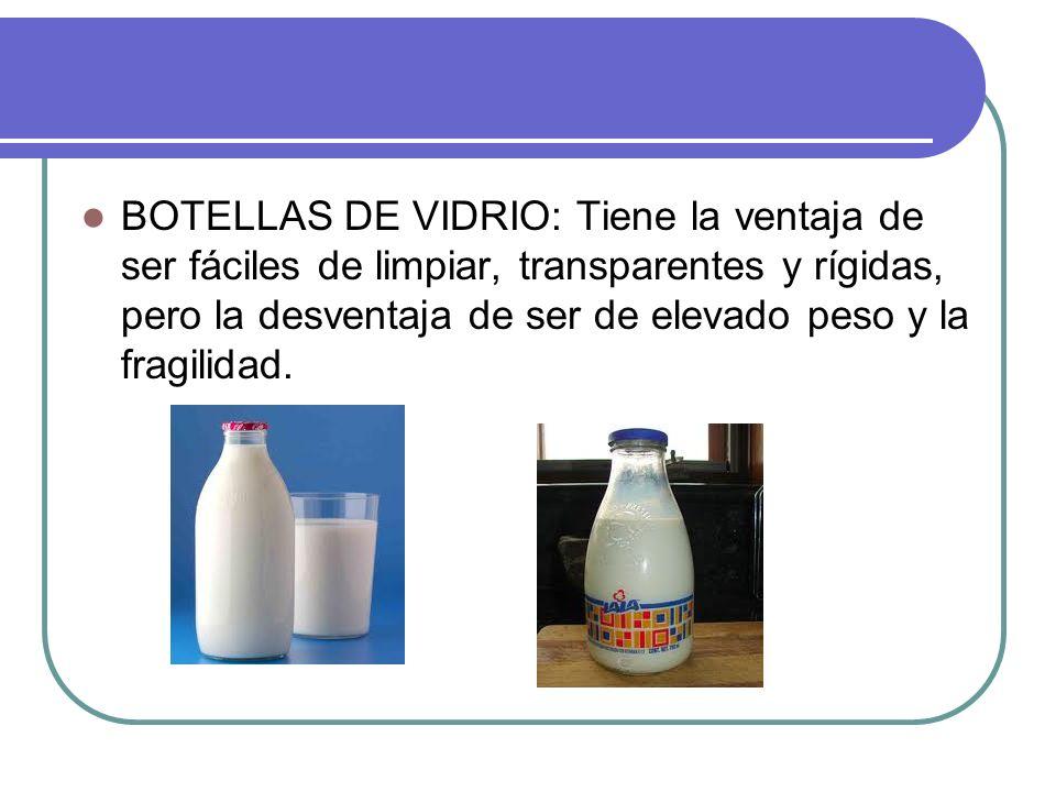 CAJAS DE CARTON: Tiene la ventaja de ser mas económica por envase y tener MENOS RIESGOS DE CONTAMINACION por aire durante el llenado.