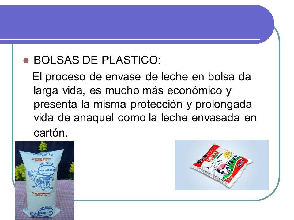 Polietileno: el polietileno, el cual, se aplicado en capas de pocas micras, Distribuido en varias capas, según el tipo de envase, cumple varias funciones: impermeabiliza y cierra herméticamente el envase.