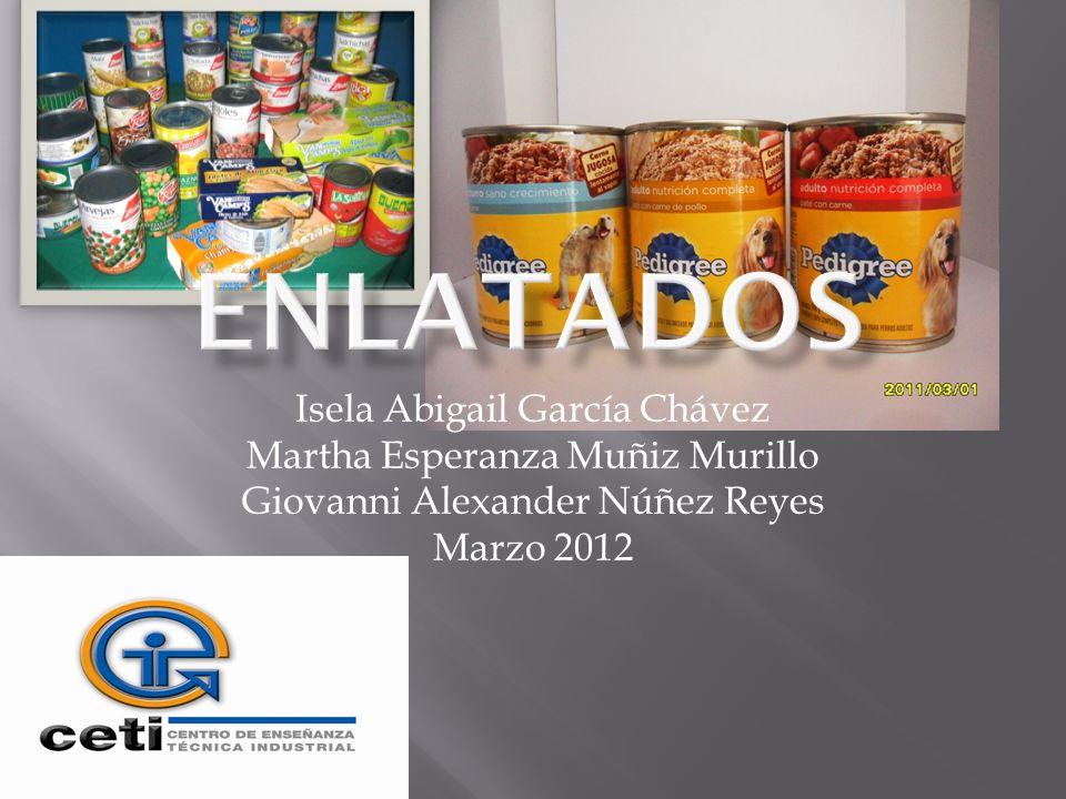 Isela Abigail García Chávez Martha Esperanza Muñiz Murillo Giovanni Alexander Núñez Reyes Marzo 2012