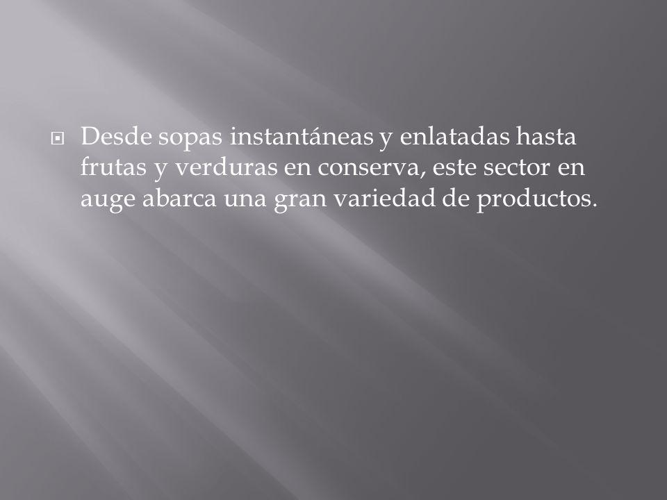 ALIMENTOS INFANTILES CONFITERÍA Y GOLOSINAS ACEITES PARA COCINAR, MANTEQUILLA Y MARGARINA LÁCTEOS ALIMENTOS SECOS ESPECIAS SECAS, CONDIMENTOS Y ALIMENTOS DECORATIVOS ADITIVOS EN GRANO Y EN POLVO ALIMENTOS PARA MASCOTAS ADEREZOS PARA ENSALADAS SALSAS Y CONDIMENTOS SOPAS Y ALIMENTOS ENLATADOS PRODUCTOS PARA UNTAR, GELATINAS Y MIEL SNACKS DULCES Y SALADOS Y REPOSTERÍA VITAMINAS, ALIMENTOS DIETÉTICOS Y SUPLEMENTOS ENTRE OTROS