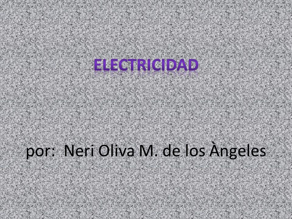 Electricidad: es un fenómeno físico cuyo origen son las cargas eléctricas y cuya energía se manifiesta en fenómenos mecánicos, térmicos, luminosos y químicos, entre otros.