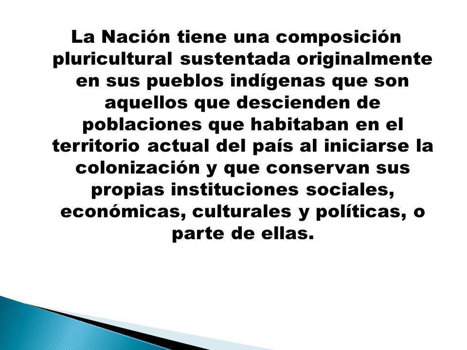 Reconocimiento, respeto y todos los derechos señalados a los pueblos indígenas, sus comunidades y su autonomía.