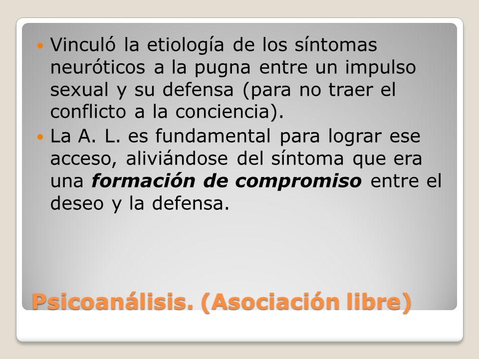 Psicoanálisis.-Funcionamiento de la mente.Tres niveles de conciencia: Ello.