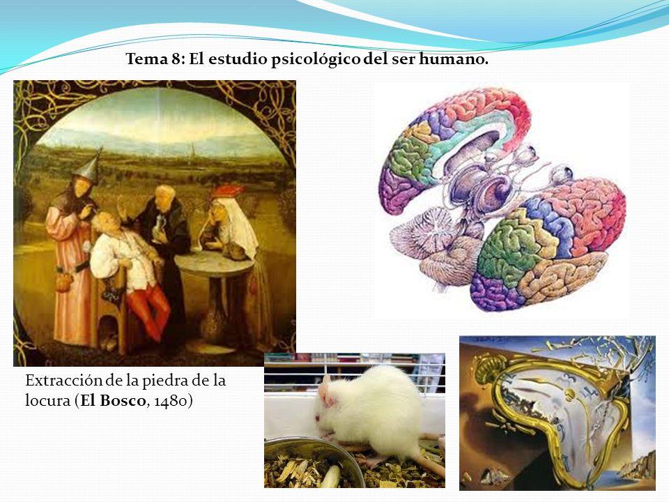 Tema 8: El estudio psicológico del ser humano. Extracción de la piedra de la locura (El Bosco, 1480)