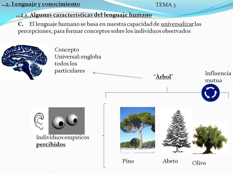 …2.Lenguaje y conocimiento TEMA 3 A.