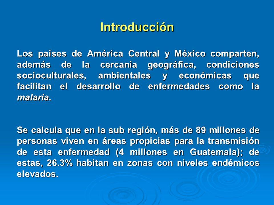 Introducción Los países de América Central y México comparten, además de la cercanía geográfica, condiciones socioculturales, ambientales y económicas