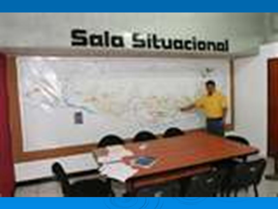 Sala Situacional: Resumen La Sala Situacional es un espacio integrador de saberes.