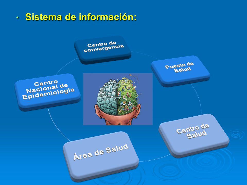 Sistema de información: Sistema de información: