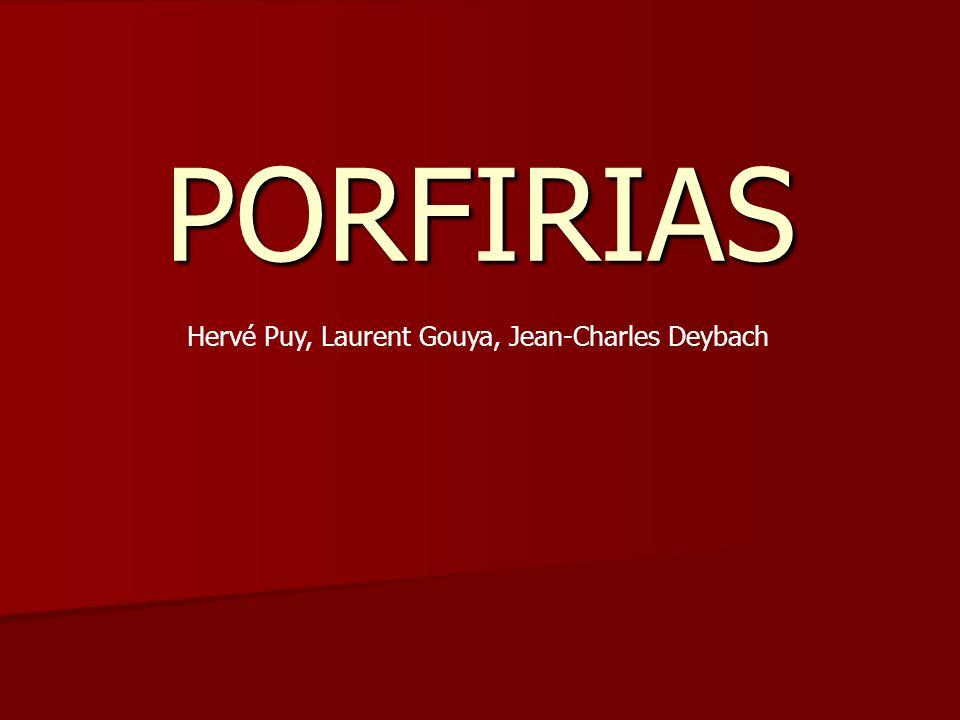 PORFIRIAS Hervé Puy, Laurent Gouya, Jean-Charles Deybach