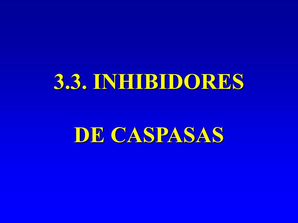 3.3. INHIBIDORES DE CASPASAS
