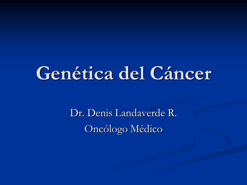 Mutaciones hereditarias en los genes supresores de tumores Las personas con mutaciones hereditarias tienen una predisposición para ciertos cánceres.