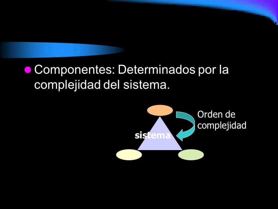 Ámbito: Un sistema existe dentro de un espacio o entorno.