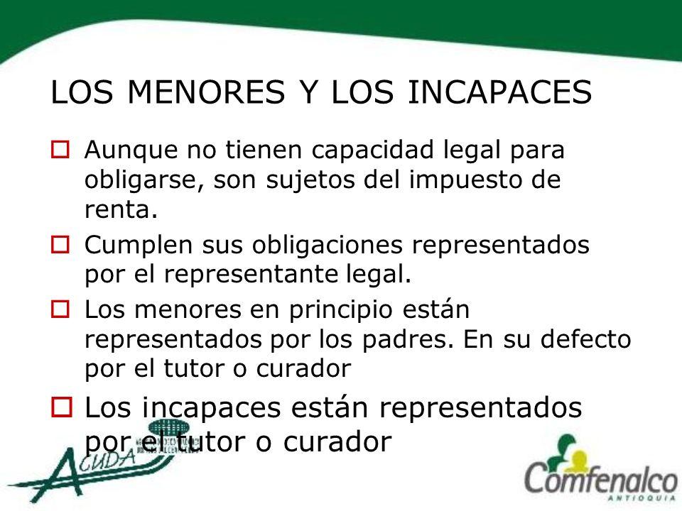 OTRAS DEDUCCIONES Amortización de perdidas Depreciación Amortización Agotamiento Exceso de renta presuntiva.