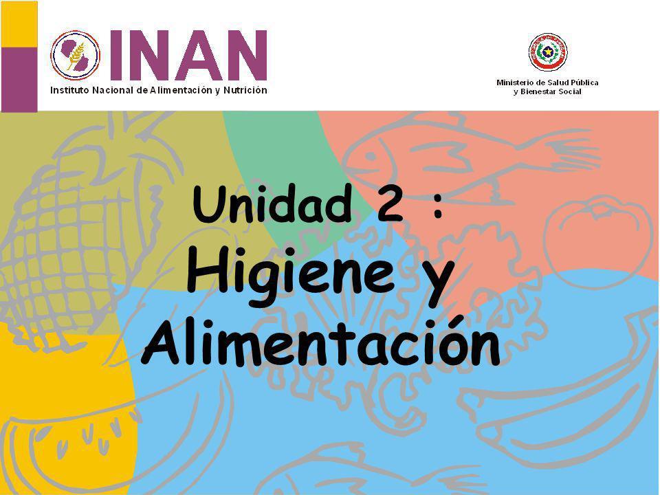 Unidad 2 : Higiene y Alimentación