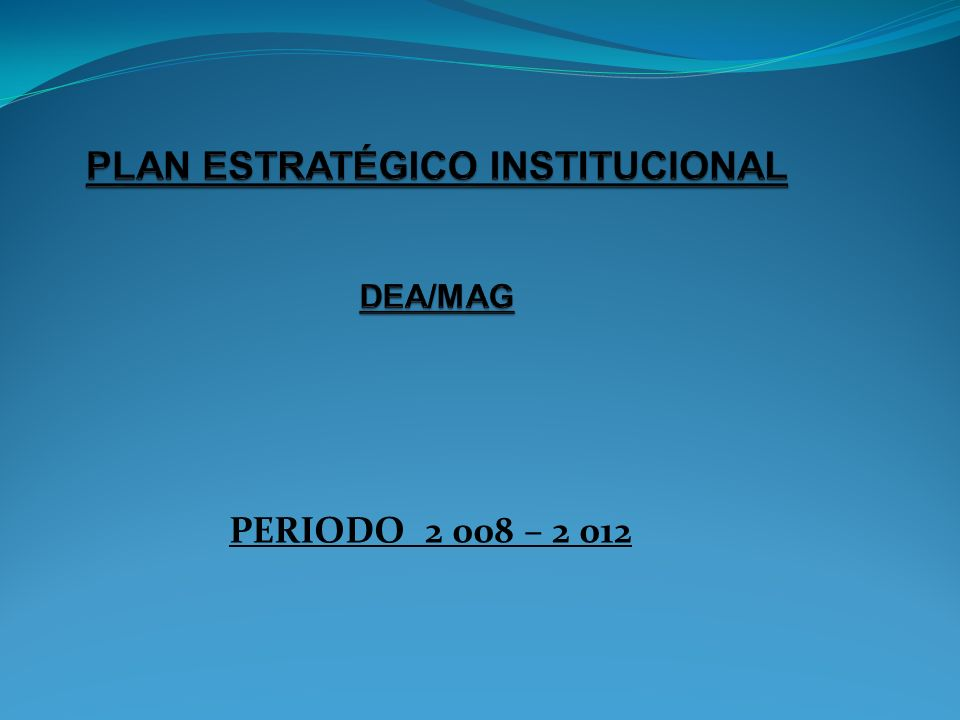 PERIODO 2 008 – 2 012