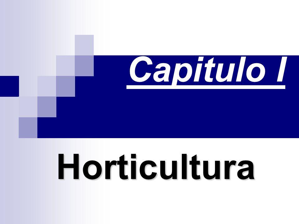 Capitulo I Horticultura