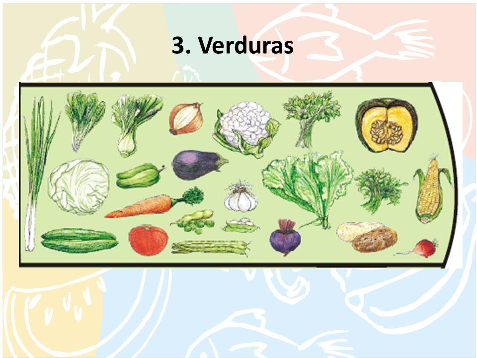 3. Verduras