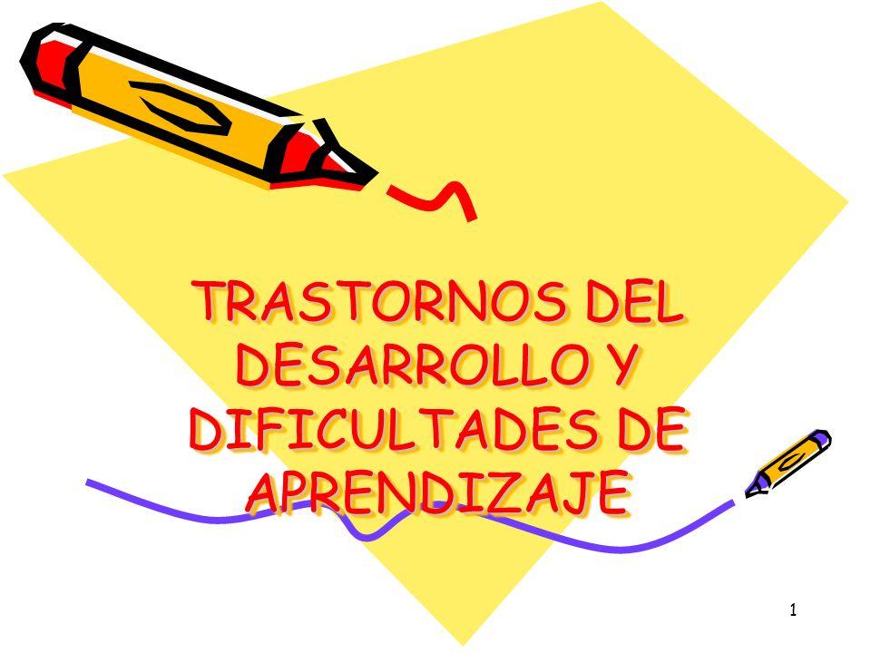 42 LA ENSEÑANZA DESDE UNA PERSPECTIVA COGNITIVA ETAPAS ESTRATEGIAS Preparación del alumno para el aprendizaje Identificar los conocimientos previos (facilitadores u obstaculizadores del aprendizaje) Presentación de los contenidos Activar los conocimientos previos Integración y transferencia de nuevos saberes Vincular los conocimientos previos con la nueva información TRASTORNOS DEL DESARROLLO Y DIFICULTADES DE APRENDIZAJE