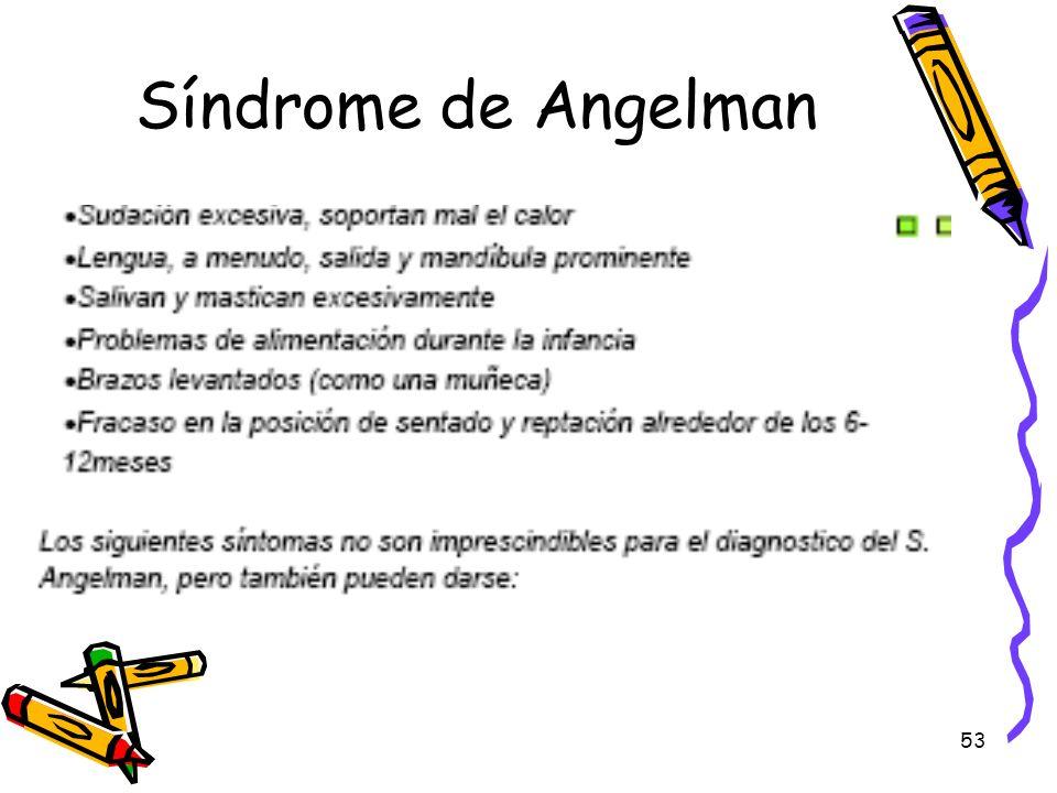 53 Síndrome de Angelman