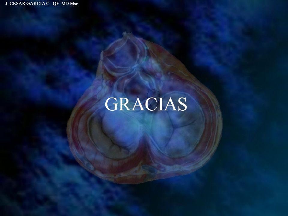 GRACIAS J. CESAR GARCIA C. QF MD Msc