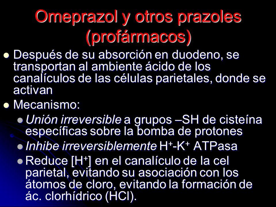 Inhibidores de la Bomba de Protones Inhibidores de la Bomba de Protones