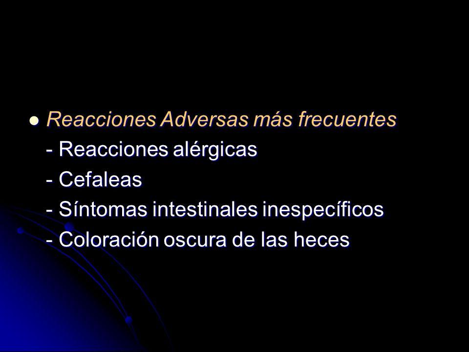 Mecanismo de acción: Mecanismo de acción: - Protección local de la mucosa - Inactivación de la Pepsina y sales biliares - Aumento de la síntesis de Pr