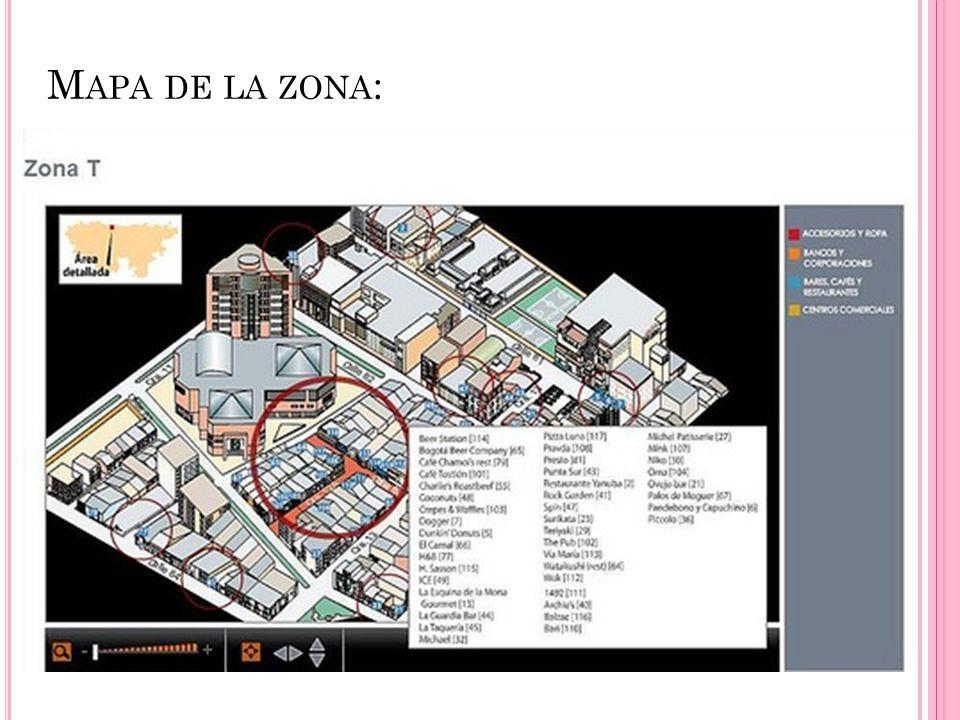 M APA DE LA ZONA :