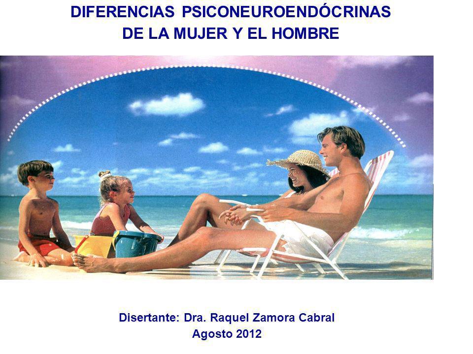 DIFERENCIAS PSICONEUROENDÓCRINAS DE LA MUJER Y EL HOMBRE DIPLOMATURA DE PSICONEUROINMUNOENDOCRINOLOGÍA Universidad Católica del Uruguay Disertante: Dr
