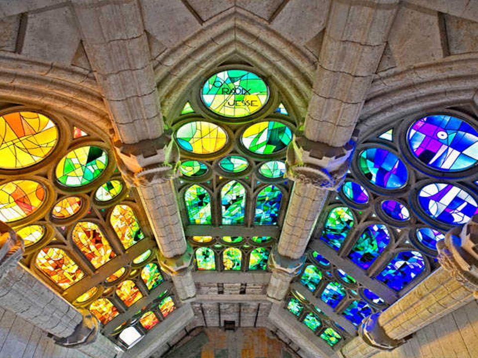 Interior de la fachada de La Gloria