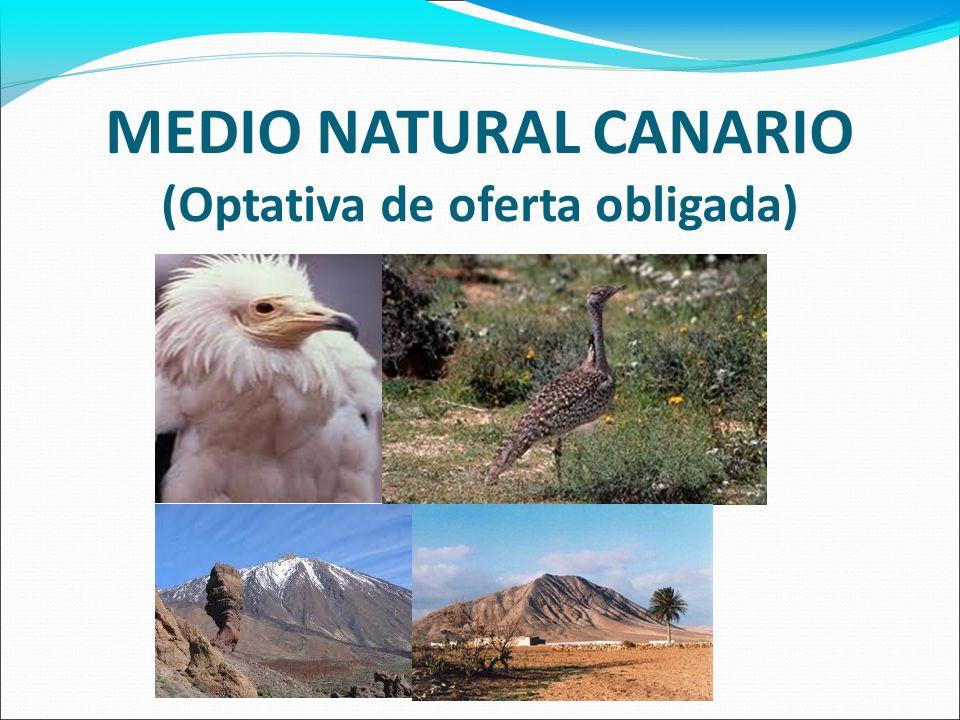FINALIDAD Conocer y comprender las principales características del medio natural en el que habita, su funcionamiento y sus interacciones con el ser humano.